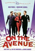 On the Avenue - DVD movie cover (xs thumbnail)