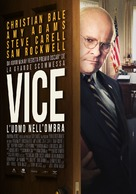 Vice - Italian Movie Poster (xs thumbnail)