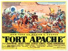 Fort Apache - British Movie Poster (xs thumbnail)
