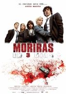 In 3 Tagen bist du tot - Spanish Movie Poster (xs thumbnail)