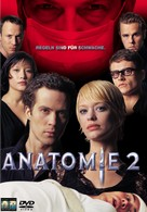 Anatomie 2 - German Movie Cover (xs thumbnail)