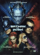 Batman And Robin - Hungarian Movie Cover (xs thumbnail)