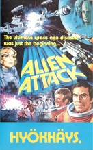 Alien Attack - Finnish VHS movie cover (xs thumbnail)