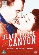 Black Horse Canyon - British DVD cover (xs thumbnail)