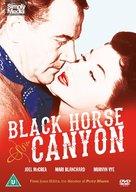 Black Horse Canyon - British DVD movie cover (xs thumbnail)