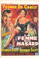 Flame of the Islands - Belgian Movie Poster (xs thumbnail)