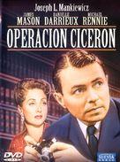 5 Fingers - Spanish DVD cover (xs thumbnail)