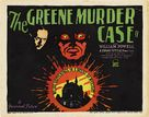 The Greene Murder Case - Movie Poster (xs thumbnail)