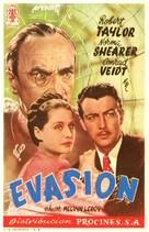 Escape - Spanish Movie Poster (xs thumbnail)