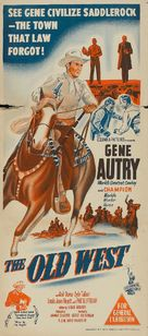 The Old West - Australian Movie Poster (xs thumbnail)