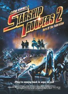 Starship Troopers 2 - South Korean DVD movie cover (xs thumbnail)