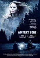 Winter's Bone - Danish Movie Poster (xs thumbnail)