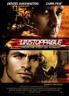 Unstoppable - Norwegian Movie Poster (xs thumbnail)