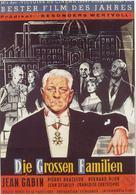 Les grandes familles - German Movie Poster (xs thumbnail)