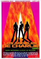 Charlie's Angels - Spanish Movie Poster (xs thumbnail)