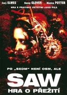 Saw - Czech Movie Cover (xs thumbnail)