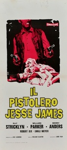 Young Jesse James - Italian Movie Poster (xs thumbnail)