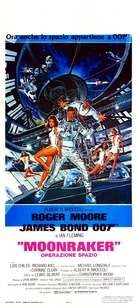 Moonraker - Italian Movie Poster (xs thumbnail)