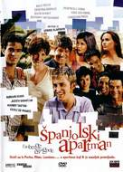 L'auberge espagnole - Croatian DVD movie cover (xs thumbnail)
