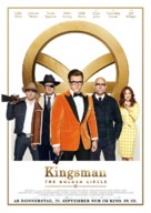 Kingsman: The Golden Circle - German Movie Poster (xs thumbnail)