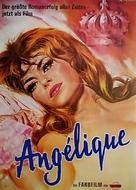 Angélique, marquise des anges - German Re-release poster (xs thumbnail)