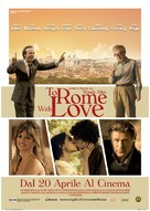 To Rome with Love - Italian Movie Poster (xs thumbnail)