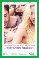 Vicky Cristina Barcelona - Icelandic Movie Poster (xs thumbnail)