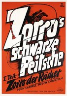 Zorro Rides Again - German Movie Poster (xs thumbnail)