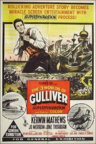 The 3 Worlds of Gulliver - Australian Movie Poster (xs thumbnail)