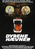 Day of the Animals - Danish Movie Poster (xs thumbnail)