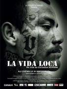 La vida loca - French Movie Poster (xs thumbnail)