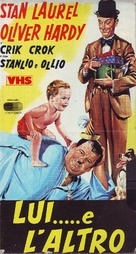Twice Two - Italian VHS movie cover (xs thumbnail)