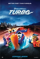 Turbo - British Teaser movie poster (xs thumbnail)