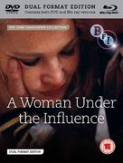 A Woman Under the Influence - British Blu-Ray movie cover (xs thumbnail)