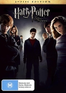 Harry Potter and the Order of the Phoenix - Australian DVD cover (xs thumbnail)