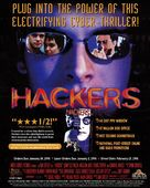 Hackers - Video release movie poster (xs thumbnail)