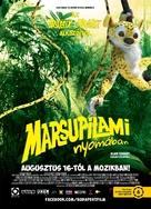 Sur la piste du Marsupilami - Hungarian Movie Poster (xs thumbnail)