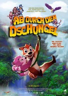 Jungle Shuffle - German Movie Poster (xs thumbnail)
