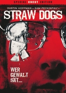 Straw Dogs - German DVD movie cover (xs thumbnail)