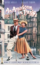 An American in Paris - VHS cover (xs thumbnail)