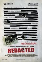 Redacted - Spanish Movie Poster (xs thumbnail)