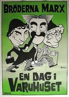 The Big Store - Swedish Movie Poster (xs thumbnail)