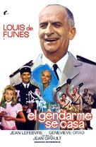 Le gendarme se marie - Spanish Movie Poster (xs thumbnail)