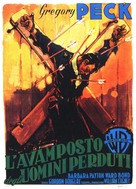 Only the Valiant - Italian Movie Poster (xs thumbnail)