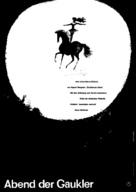 Gycklarnas afton - German Movie Poster (xs thumbnail)