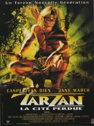 Tarzan and the Lost City - French Movie Poster (xs thumbnail)