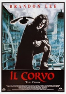 The Crow - Italian Movie Poster (xs thumbnail)