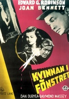 The Woman in the Window - Swedish Movie Poster (xs thumbnail)