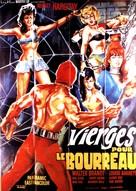 Il boia scarlatto - French Movie Poster (xs thumbnail)