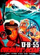 Haie und kleine Fische - French Movie Poster (xs thumbnail)